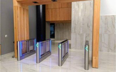 A new concept for pedestrian access control gates
